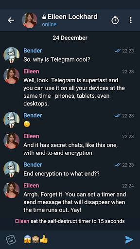 Screenshot for Telegram X in Hong Kong Play Store