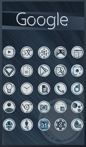 Download The Lox Icon Pack - a light version of Azulox MOD APK 1
