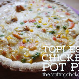 Topless Chicken Pot Pie