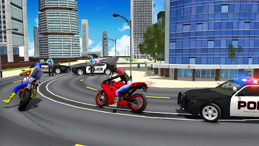 Police Car Vs Theft Bike Apk 2