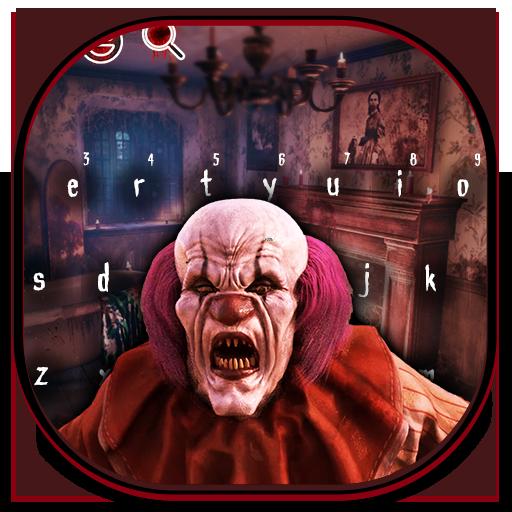 Red Horror Joker Keyboard