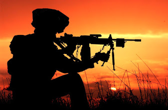 Photo: An Israeli #Soldier Adjusts Their Weapon As The Sun Sets In The Background  Share this absolutely beautiful photo with all your friends and Show the world the beauty of #Israel #Photography