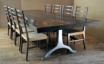 Photo: http://dorsetcustomfurniture.blogspot.com/2010/10/new-claro-slab-table-is-finished.html