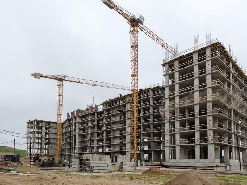 Ход строительства на октябрь 2018