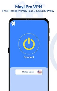 Mayi Pro VPN – Ads Free Vpn – Safe & Secure Vpn 8