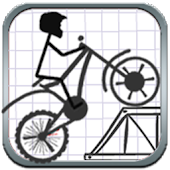 Stickman Stunt Bike
