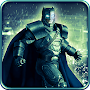 Flying Knight Superhero: Rescue Dark City 3D game APK icon