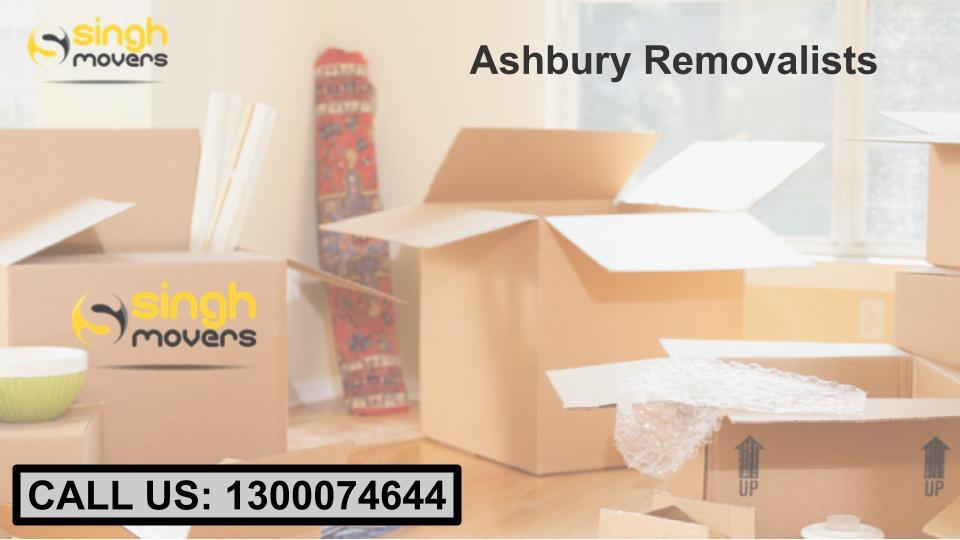 Ashbury removalists