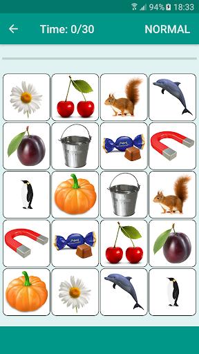 Brain game. Picture Match.  screenshots 3