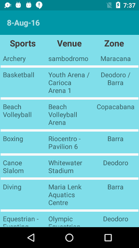 免費下載運動APP|Rio Olympics Schedule 2016 app開箱文|APP開箱王