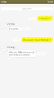 Screenshot of Faketalk - Chatbot