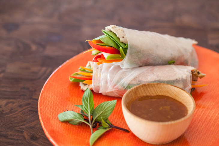 Vietnamese Spring Rolls with Slow Cooker Pork Recipe (and Video!) Recipe