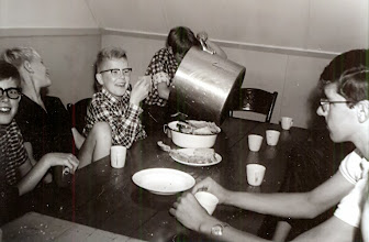 Photo: Kamp Bosvolk 1966 te Grolloo