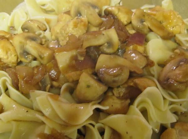 Kitty's Chicken Mushroom Saute' Recipe