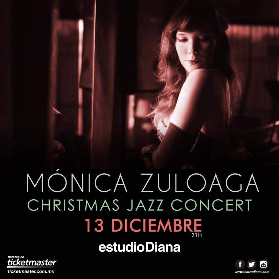 Mónica Zuloaga Christmas Jazz Concert