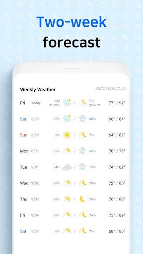 First Weather screenshot 14