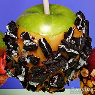 Cookie Crush Caramel Apples