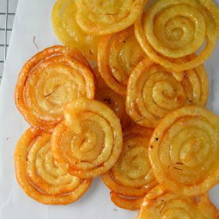 Jalebi (Indian Funnel Cake)