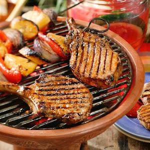 Caribbean Barbecued Pork Chops