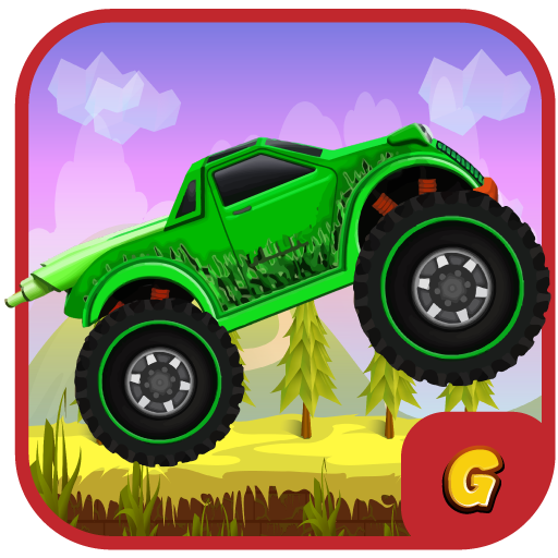 Kids Racing Games:Hill Truck