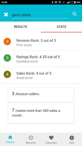 amzme - Amazon Research Tool 1.1.10 screenshots 2