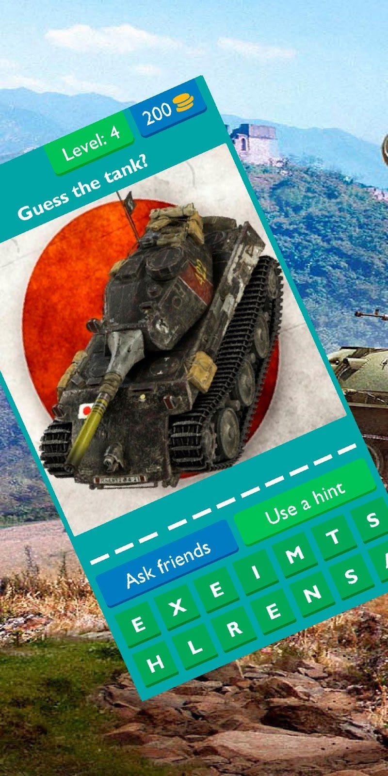 Скриншот Guess the Japan tank from WOT