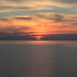 Huron by Raymond Fitzgerald - Landscapes Sunsets & Sunrises ( sky, canada, lake, water, canon )