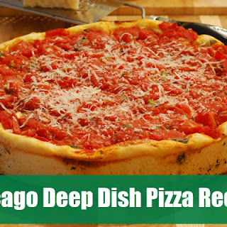 Amazing Chicago Deep Dish Pizza