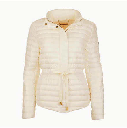 Packable Nylon Puffer Jacket, bone