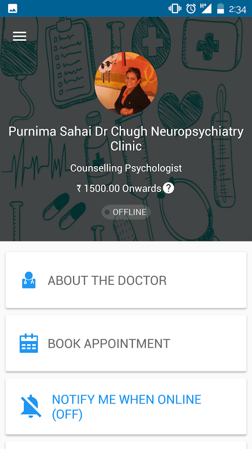 Purnima Sahai's M Clinic- screenshot