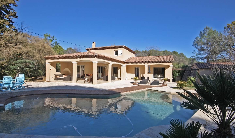 Villa avec piscine et terrasse Flayosc