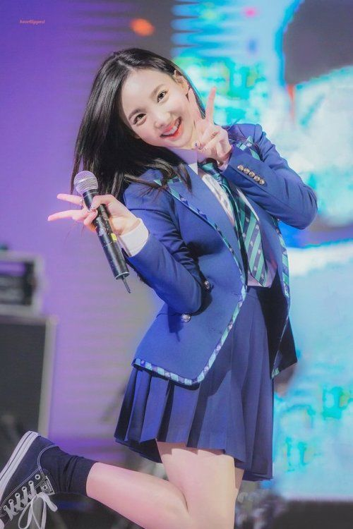 nayeon uniform 19