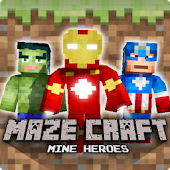 Maze Craft : Mine Heroes