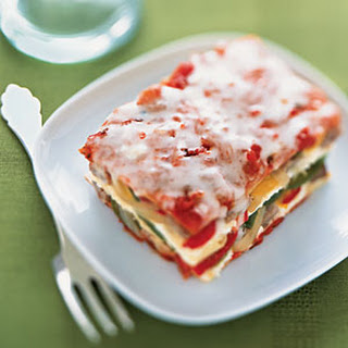 Sausage, Bell Pepper, and Onion Lasagna