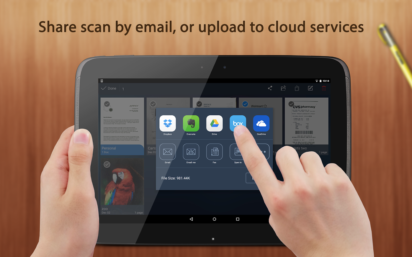 Android Scanner App Deutsch
