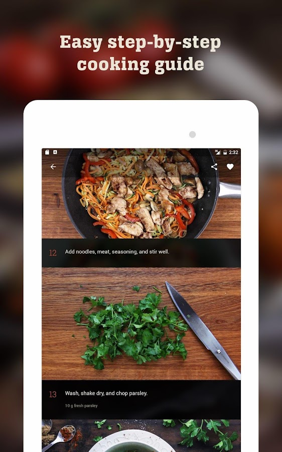 Kptncook recipes and healthy cooking android apps on google play kptncook recipes and healthy cooking screenshot forumfinder Gallery