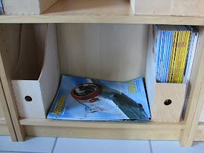 Photo: Les Hors série Le Fana de l'Avation, et déjà le casier de prêt pour les futurs numéros du Fana