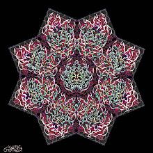 "Photo: Spiritual Series: Basmala (2001)  Digital Print/ Mixed Media  بسم الله الرحمن الرحيم  ""Bism Allah Al-Rahman Al-Raheem""  ""In the name of God, the Merciful, the Compassionate""  Arabic Calligraphic Composition (Diwani Style)"