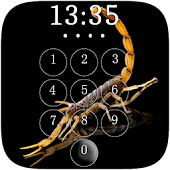 Scorpion Lock Screen & Wallpaper
