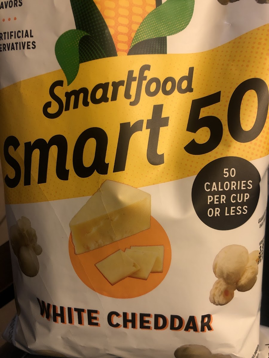 Smart 50 White cheddar Popcorn