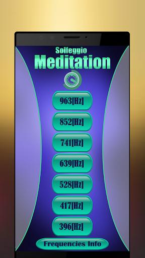 Solfeggio Frequencies & Binaural Beats Meditation 45.0 screenshots 1