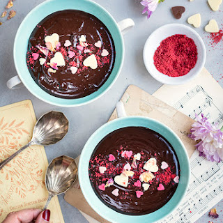 Four Ingredient Chocolate Soup.
