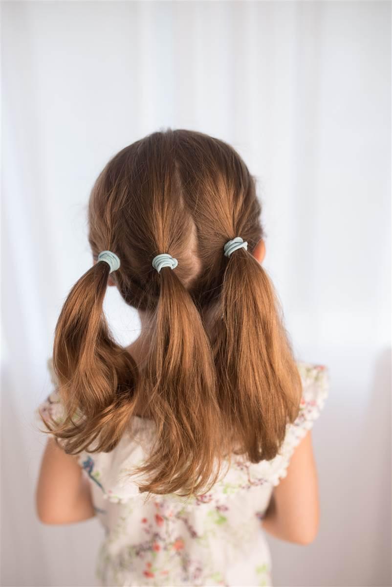 Penteado baixo para fazer crianças