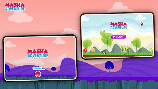 Subway Masha adventure Run - náhled