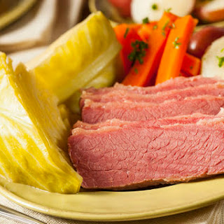Slow-Cooked Corned Beef.