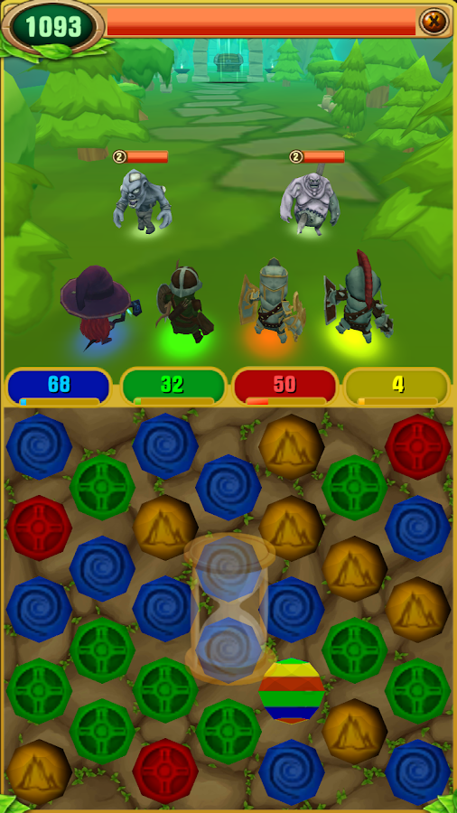 Abyss of Magic - Puzzle RPG- screenshot