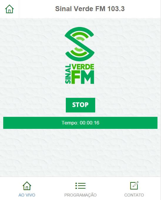 Sinal Verde FM- screenshot