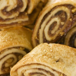 Filled Pastry Rolls.