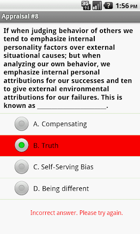 NCE / CPCE National Counselor Exam Prep Screenshot