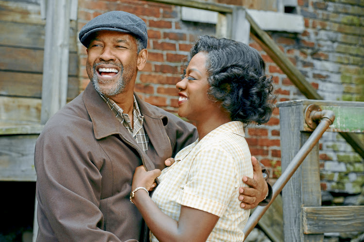 Denzel Washington and Oscar-winner Viola Davis. Picture: PARAMOUNT PICTURES